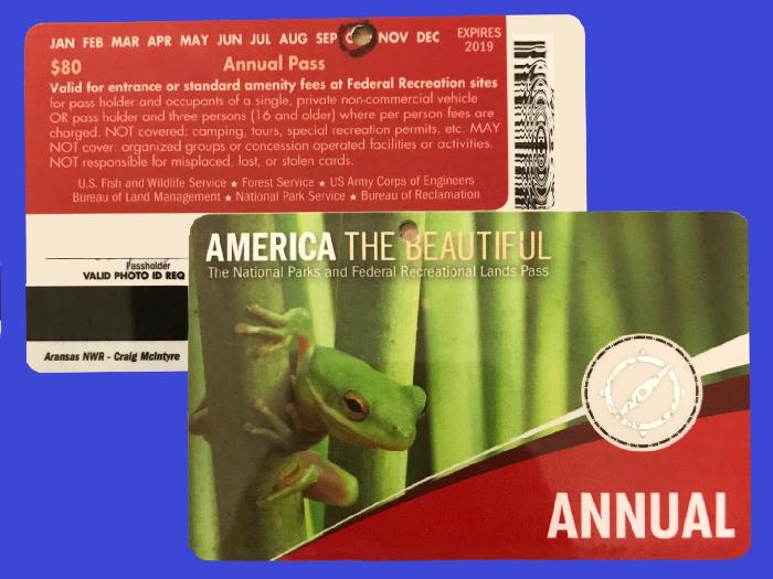 America the Beautiful National Parks Annual Pass