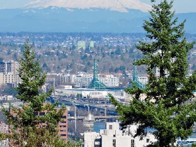 Aerial Views of Portland