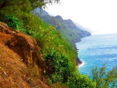 Our Hike (and Complete Soaking) in Northwest Kauai