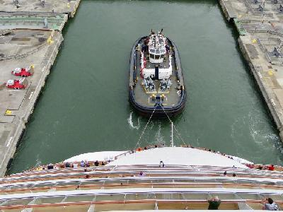 The Inaugural Norwegian Bliss Panama Canal Crossing