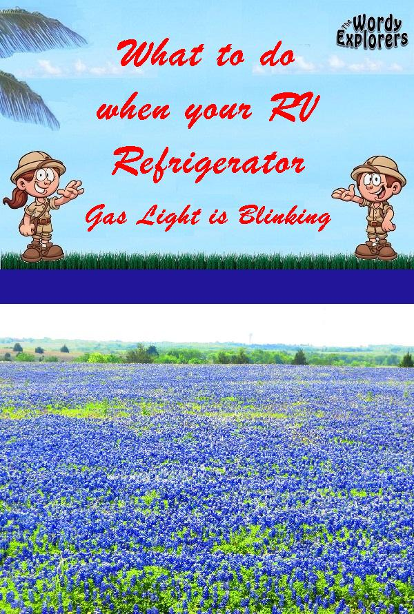 What to do when your RV Refrigerator Gas Light is Blinking