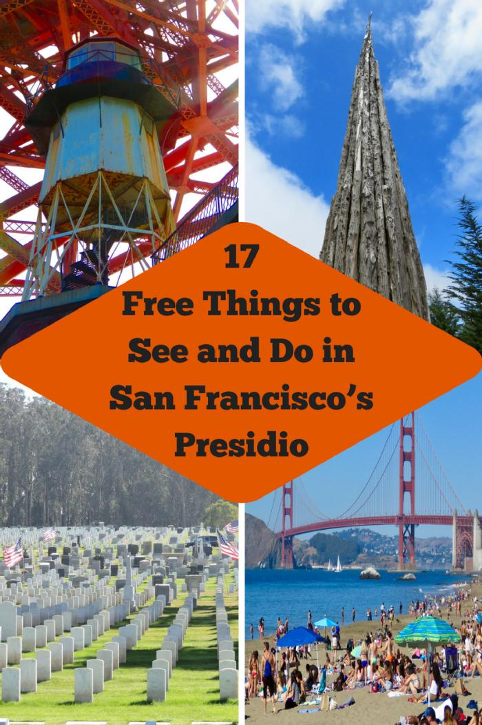 17 Free Things to See and Do in San Francisco's Presidio