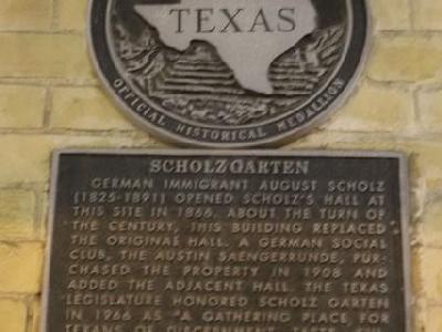 Enjoy Austin with a stop at Scholz Biergarten