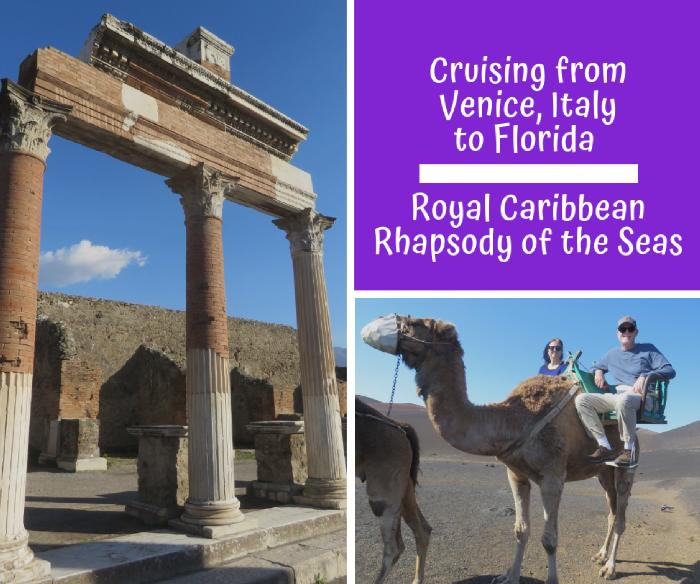 Cruising from Venice, Italy to Florida aboard Royal Caribbean's Rhapsody of the Seas
