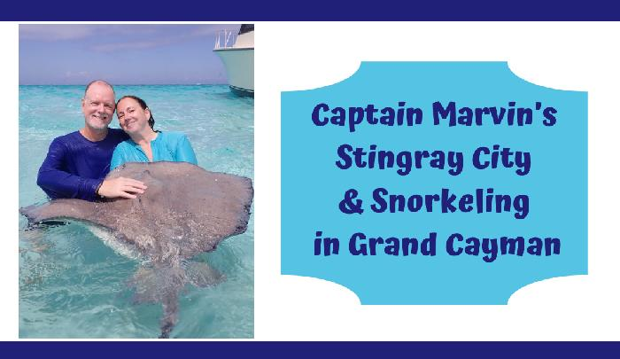 Stingray City and Snorkeling in Grand Cayman with Captain Marvin's