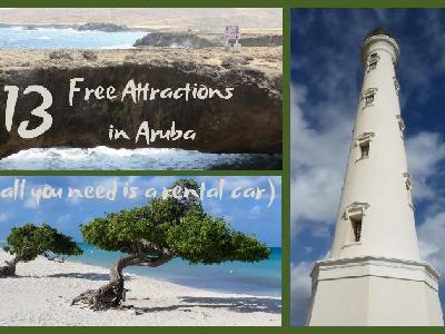 13 Free Attractions in Aruba - All You Need is a Rental Car!