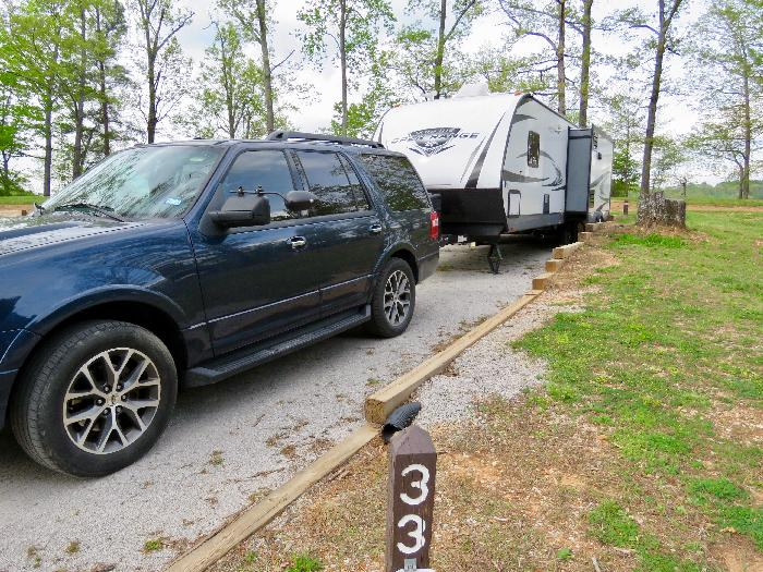 Review: Fairview Campground at Tims Ford State Park