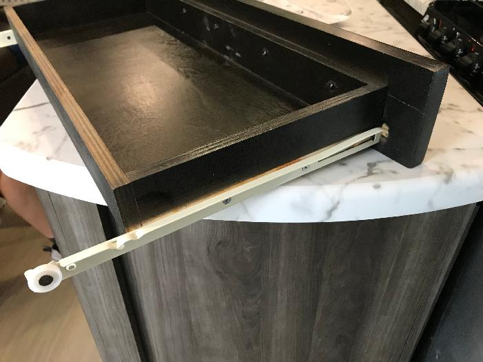 Hack Your RV Table Drawer with a New Slide