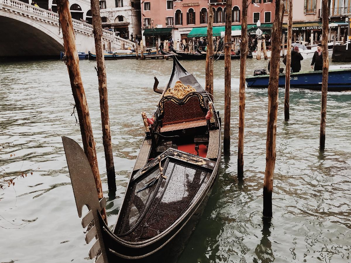 Running Through the Narrow Streets of Venice